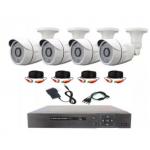 Набор наружного  видеонаблюдения (4 камеры)